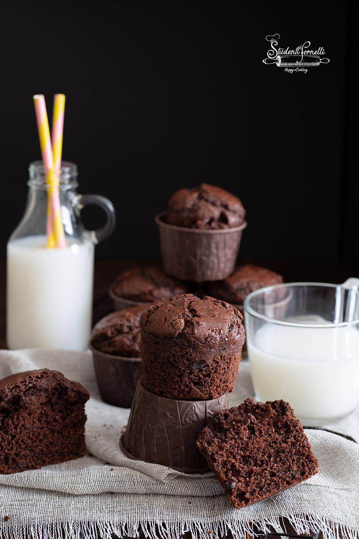 bis muffin al cioccolato fondente ricetta originale