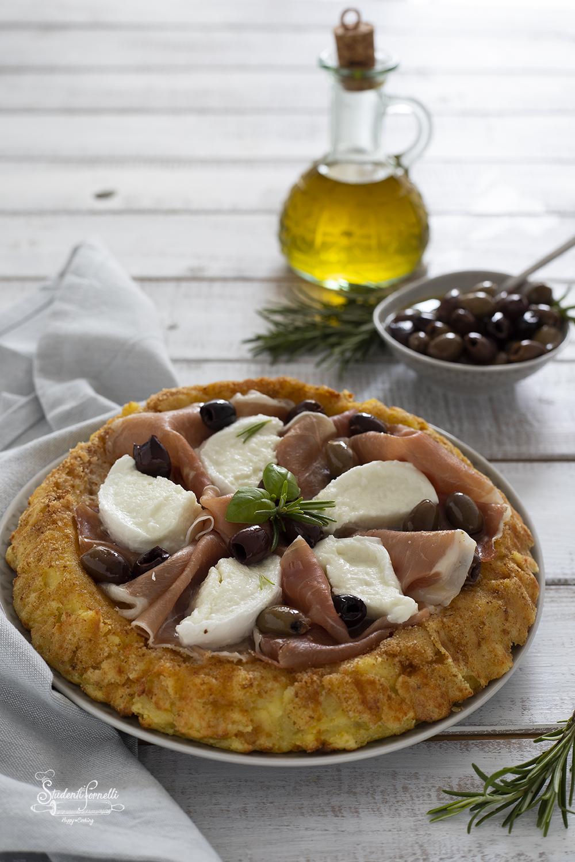ricetta crostata di patate prosciutto e mozzarella ricetta