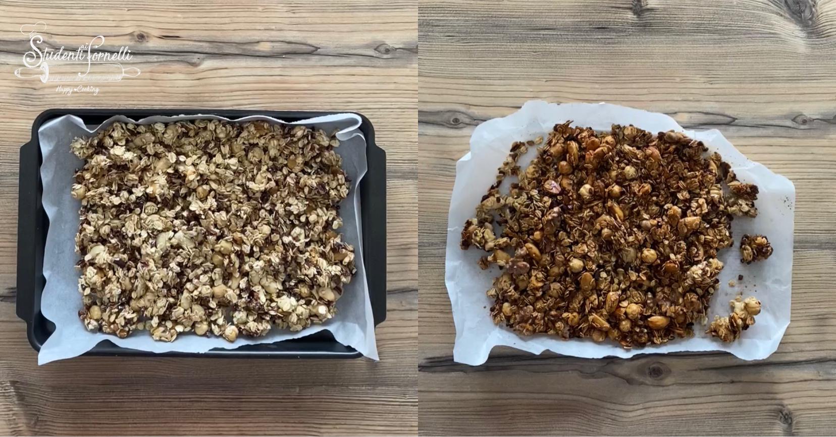 granola con frutta secca e cioccolato 3
