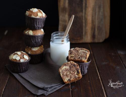 MUFFIN VARIEGATI Panna e Cacao