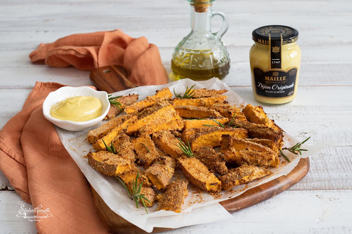 patate americane gratinate alla senape ricetta