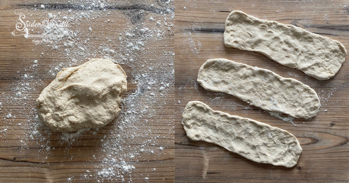 schiacciatine in padella ricetta 2