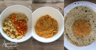 crocchette di ceci e carote ricetta