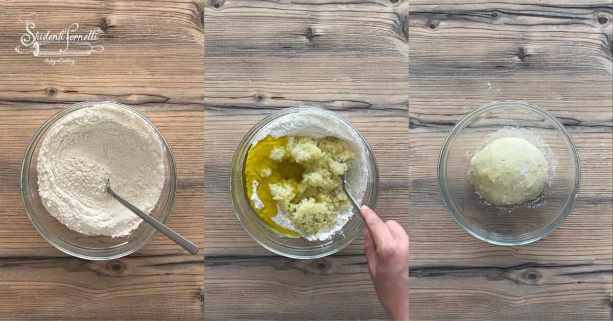 focaccia con pomodorini gialli e alici 2