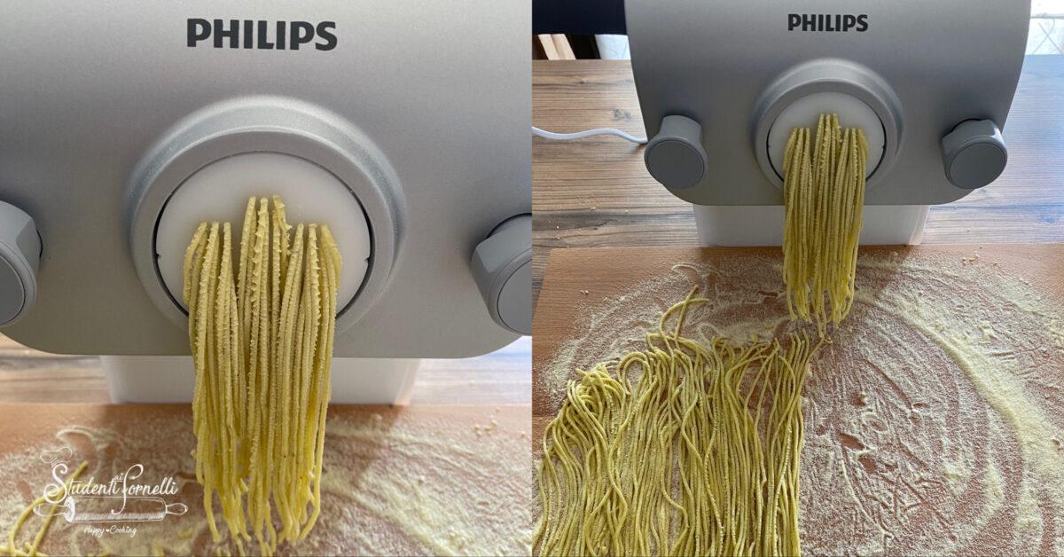 spaghetti al basilico fatti in casa