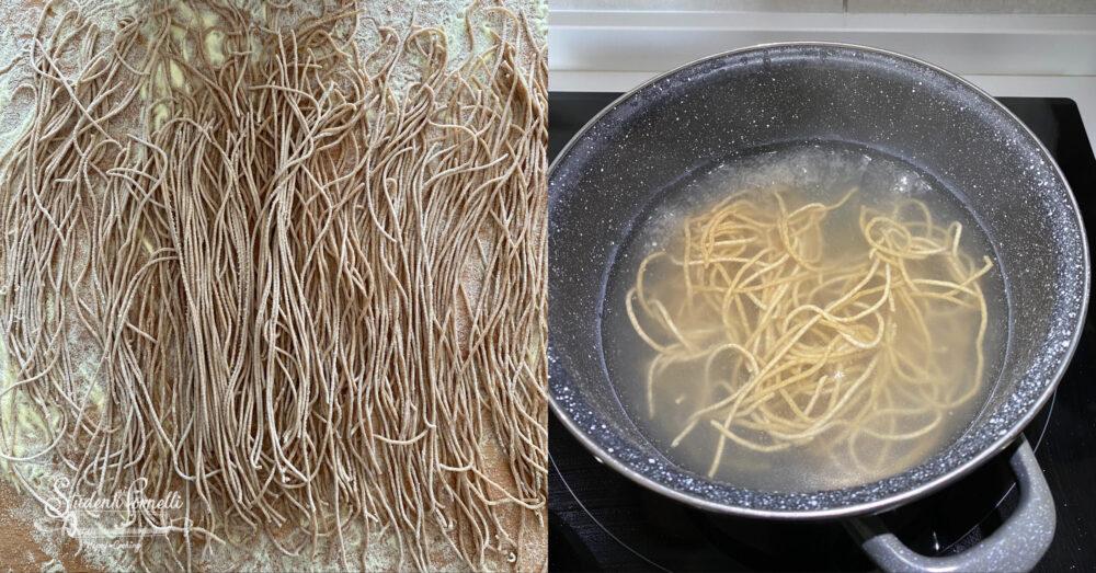 spaghetti integrali fatti in casa 1