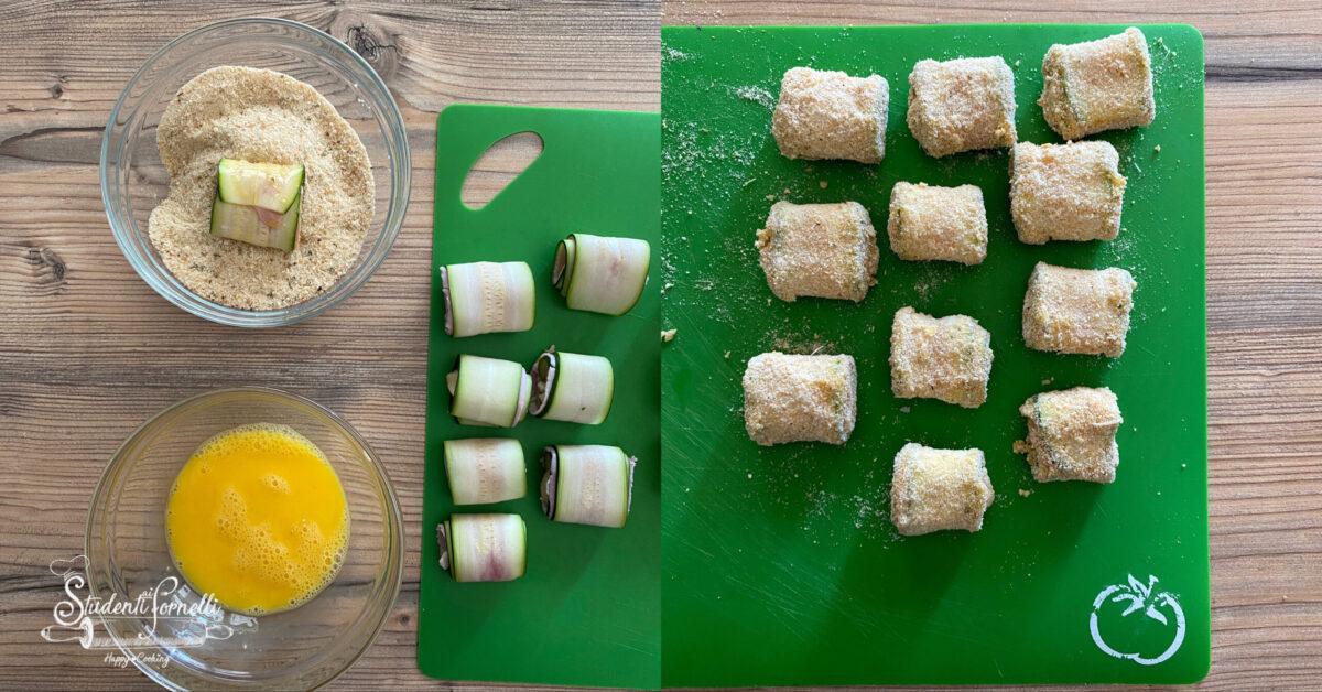 involtini di zucchine prosciutto e scamorza 3