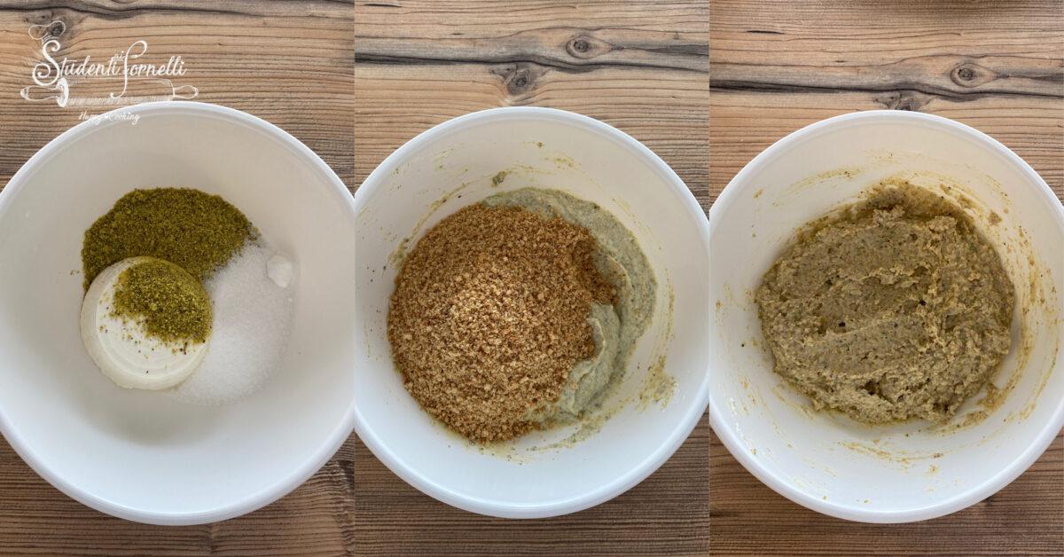 tartufini al pistacchio e ricotta 2