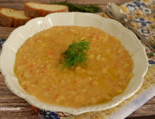 Zuppa di fave secche sgusciate – Macco di fave