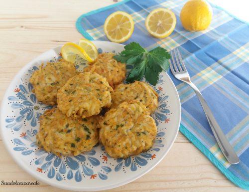 Frittelle di Bianchetti o Neonata di pesce