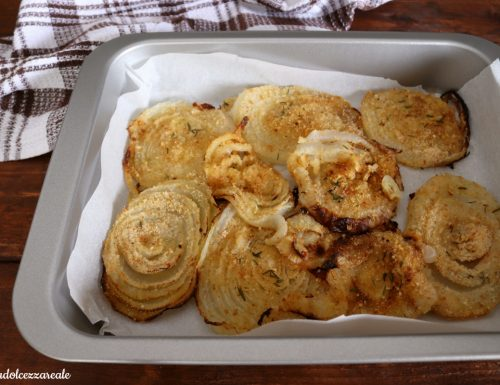 Cipolla di Giarratana gratinata al forno