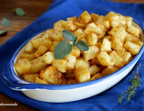 Patate sabbiose croccanti al forno