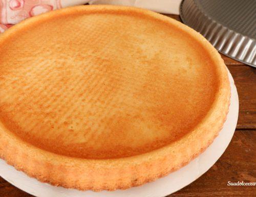 Base per crostata morbida senza burro