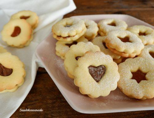 Biscotti di frolla all'arancia senza burro