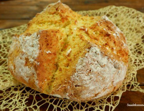 Pane irlandese senza lievito Soda bread