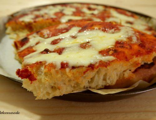 Ricetta Pizza in teglia impasto base