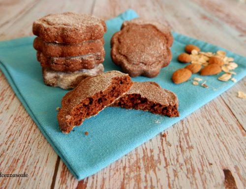 Biscotti di avena e cioccolato senza burro