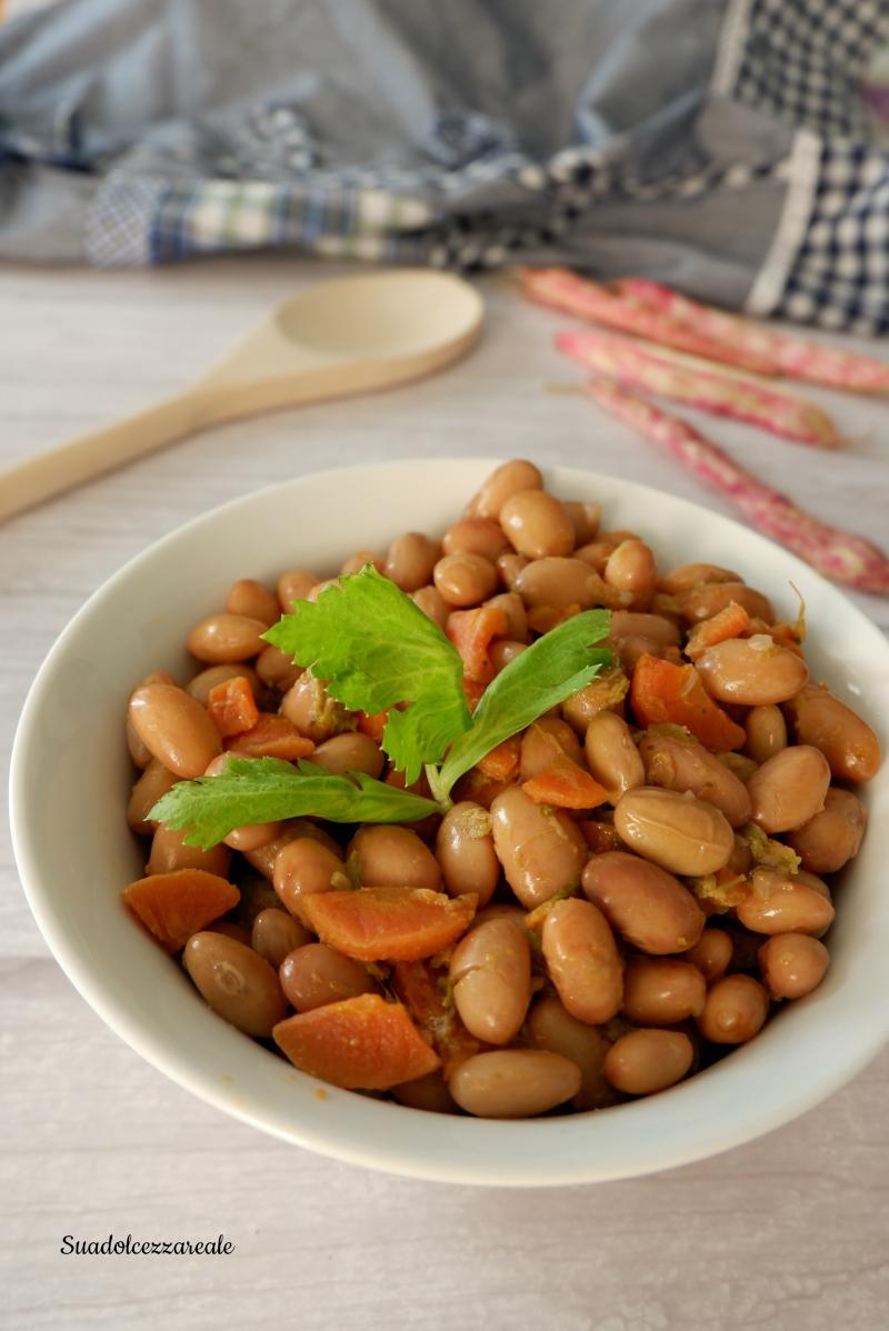 ricetta fagioli borlotti freschi