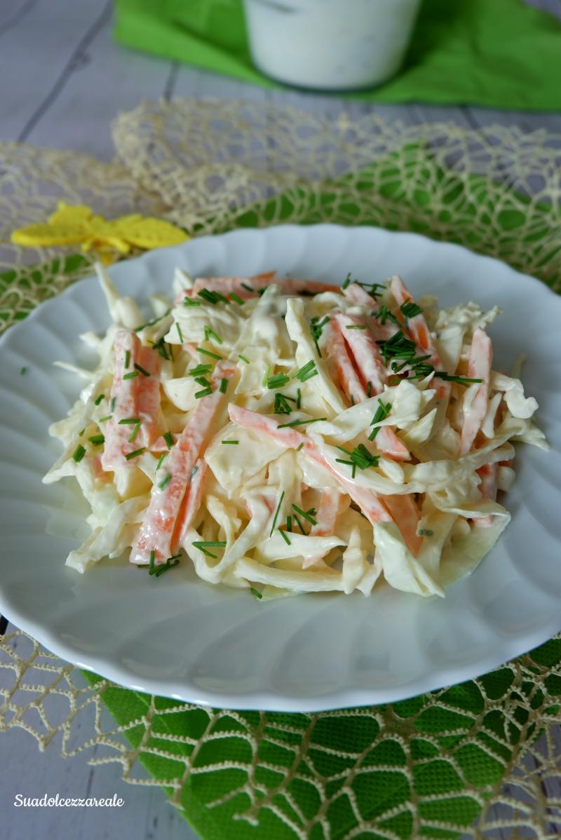 ricetta insalata di cavolo