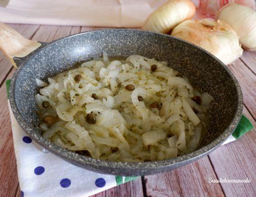 Cipolle bianche o di Giarratana in padella