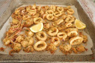 ricetta anelli di calamari