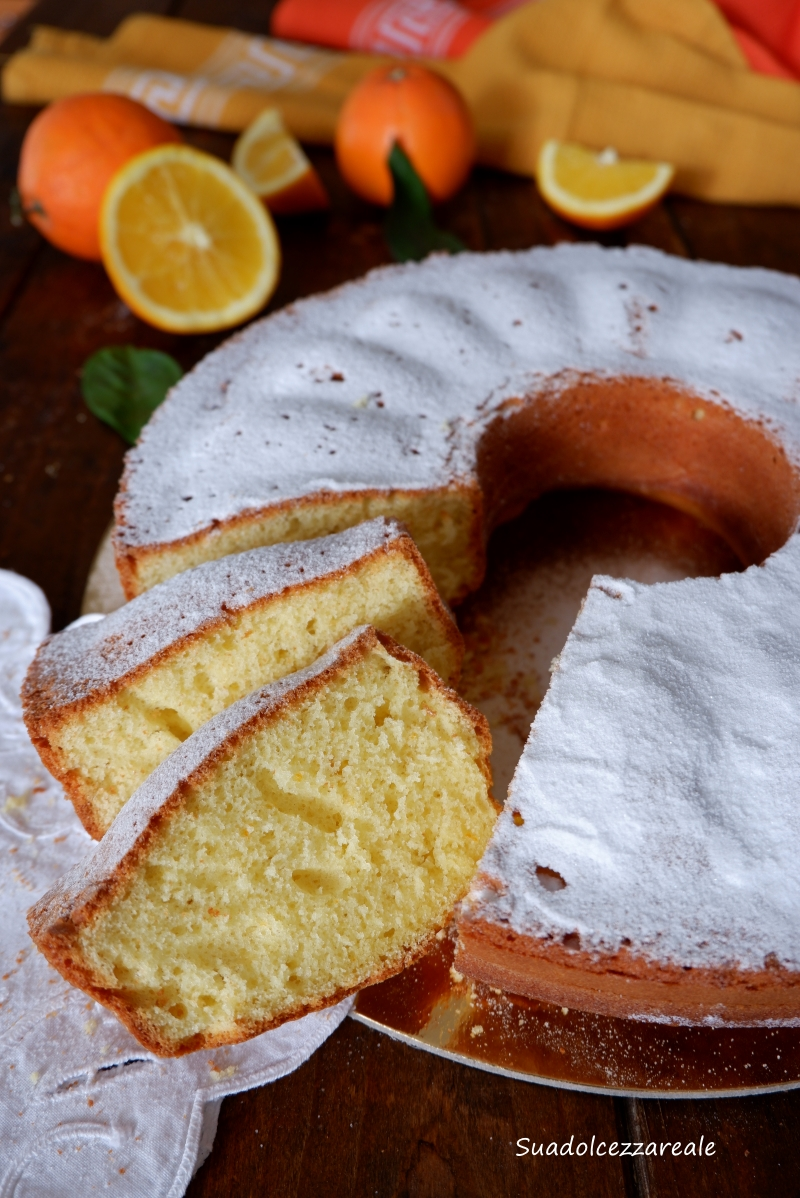 come fare torta all'arancia senza burro ricetta perfetta