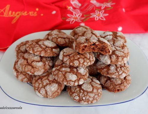 Biscotti al cioccolato e nocciole morbidi