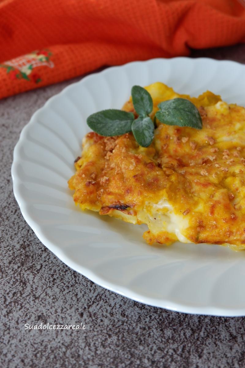 lasagne zucca e speck cremose ricetta facile