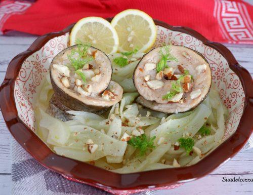 Filetti di trota salmonata alle mandorle