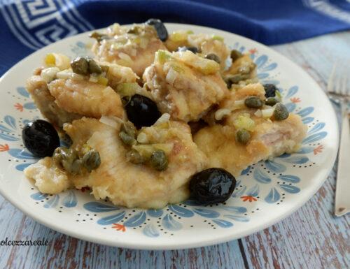 Pesce palombo in agrodolce Ricetta siciliana