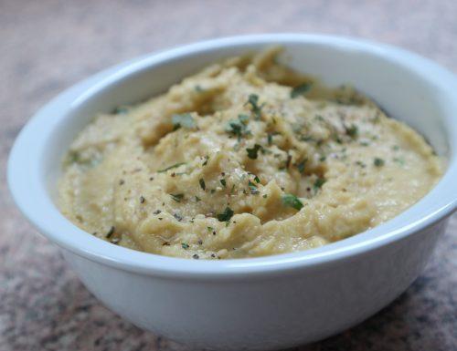 Hummus a modo mio!   (senza tahina)