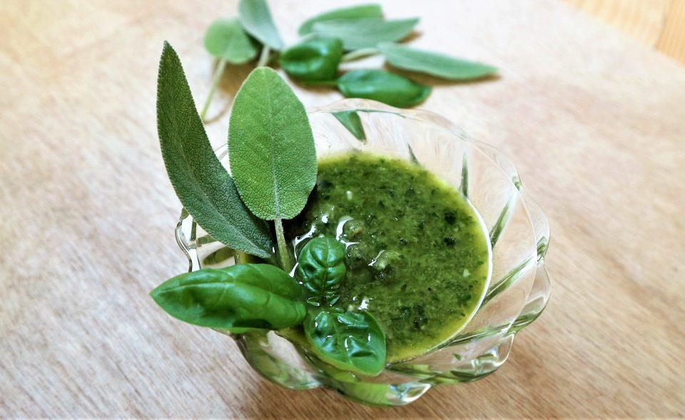 Pesto Salvia e basilico