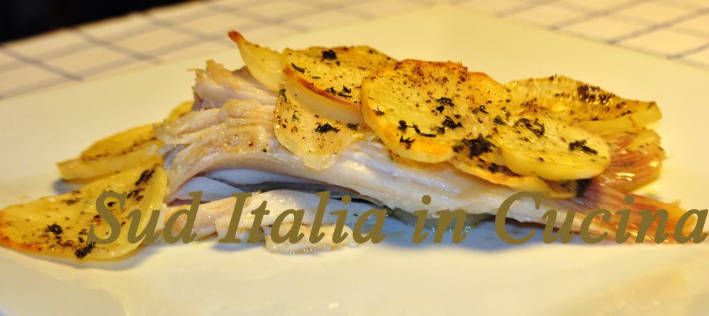 Ricerca ricette con come cucinare il pesce razza con le - Come cucinare il pesce serra ...
