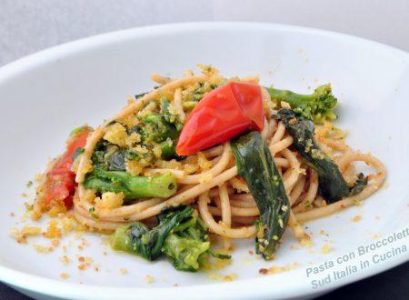 Spaghetti Integrali con Broccoletti