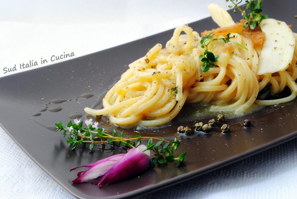 Spaghetti con Bottarga di Aringa DSC_0598pf