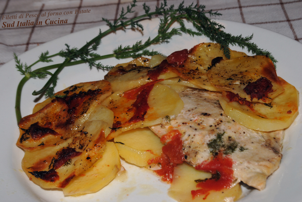 pesce serra al forno e con gli scarti . . . | sud italia in cucina - Come Si Cucina Il Pesce
