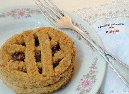 Esuberanti Crostatine alla Nutella