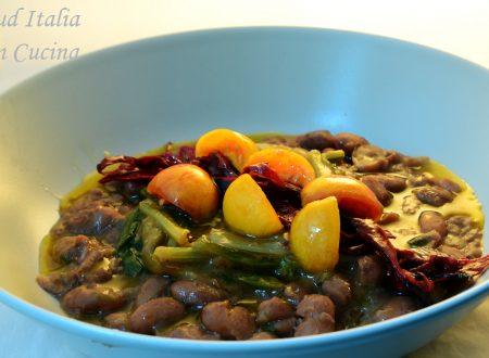 Fagioli e Verdura con Olio Crudo ma . . .