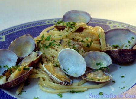 Linguine o Spaghetti con le Vongole