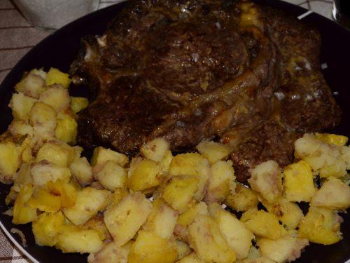 Bistecca al Forno con Patate