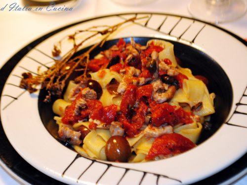 Pappardelle alla Pizzaiola di Tonnetti
