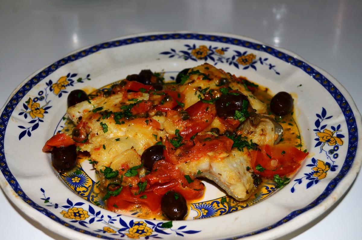 Baccalà alla Pizzaiola col Fumo Piccante