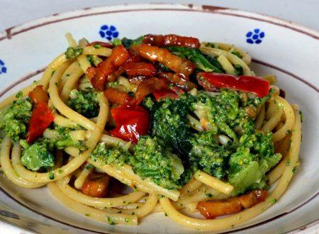 Pasta con Broccoli e Ricotta Forte
