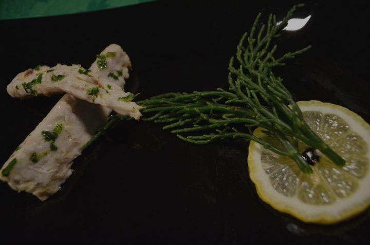 Filetti di Sgombro con Salicornia