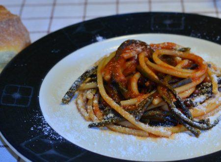 Spaghetti con Fagiolini Pinti