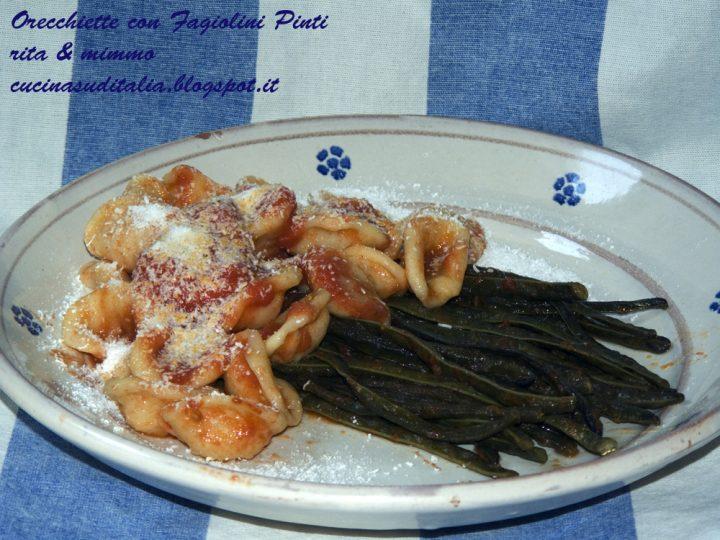 Orecchiette Fresche con Fagiolini Pinti