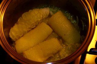 Involtini di Trippa con Patate in umido