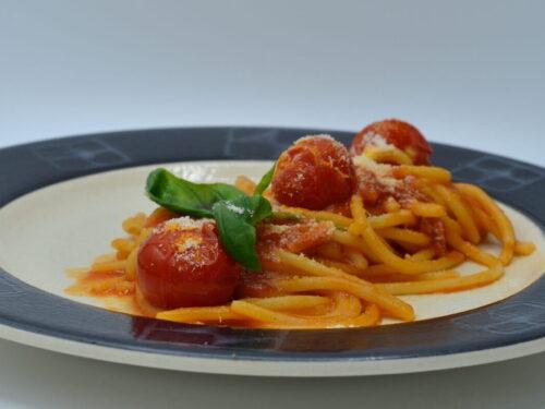 Spaghetti al Pomodoro Estate ed Inverno
