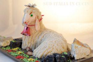 Pecorella Pasquale Tarantina di mandorle