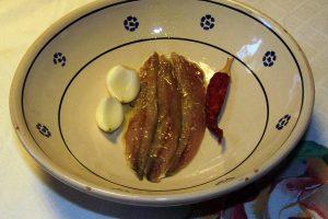 Alici o Acciughe Salate